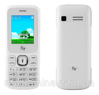 Телефон Fly FF177 White , фото 2