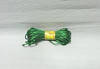 Шнур атласный, Темно-зеленый, 0,2см