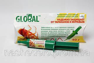 Инсектицид Global Средство от тараканов и муравьёв  40 гр. КиевХимПром