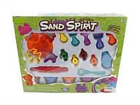 Песок кинетический и  набор инструментов
