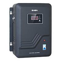 Стабилизатор напряжения SVEN AVR PRO-8000 LCD настенный