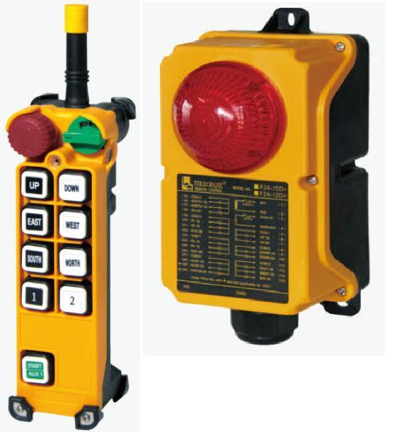 TELECRANE модель F24-8D+ Промышленное радиоуправления - Малое предприятие Ремикс в Белой Церкви