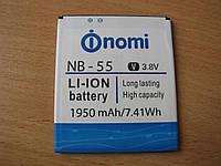 Аккумулятор для NOMI i505 Jet NB-55 1950 mAh оригинал