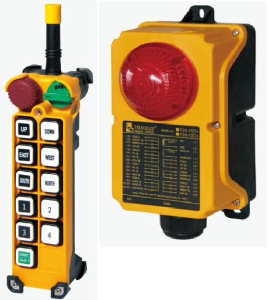 TELECRANE модель F24-10S+ Промышленное радиоуправления - Малое предприятие Ремикс в Белой Церкви