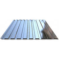 Профнастил стеновой С-15 цинковый 0,5