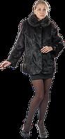 Шуба - куртка из меха нутрии