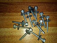 Шуруп покрівельний профнастил зі свердлом 4,8x35 з шестигранною головкою DIN 7504 ДО,300 шт/упак