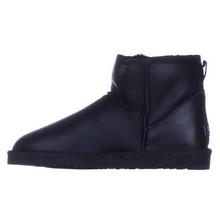 Угги мужские кожаные UGG Australia черные короткие, фото 2