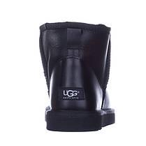 Угги мужские кожаные UGG Australia черные короткие, фото 3