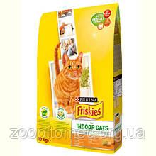 Корм ФРИСКИС FRISKIES для кішок INDOOR садової травою для домашніх кішок на вагу 1 кг
