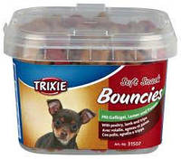 Trixie TX-31507 Soft Snack Bouncies 140гр- смесь лакомств для мини собак  баранина, птица, рубец