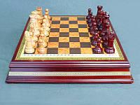 """Игра настольная """"Шахматы деревянные"""" 40х40х8 см."""