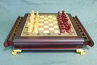 """Игра настольная """"Шахматы деревянные"""" 43х43х10 см."""