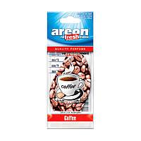 Classic освежитель воздуха парус картонный  Coffee, Areon