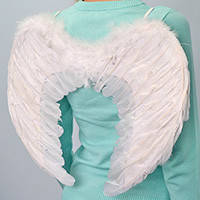 Крылья ангела белые 50 х 37 см.