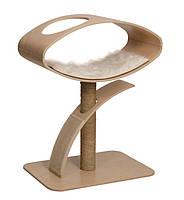 Когтеточка Hagen Vesper 52054 Lounge овал на столбике, орех