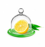 Лимонница (контейнер для лимона) зеленое дно