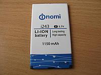 Аккумулятор Nomi i243 Li-ion 3.7V 1150mAh оригинал
