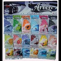 Classic освежитель воздуха парус картонный  MIX, Areon