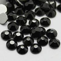 Стразы для ногтей черные SS4, 1440 шт.
