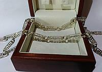 Серебряная цепочка Versace