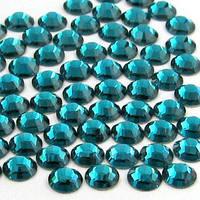 Стразы для ногтей синие SS4, 1000 шт.