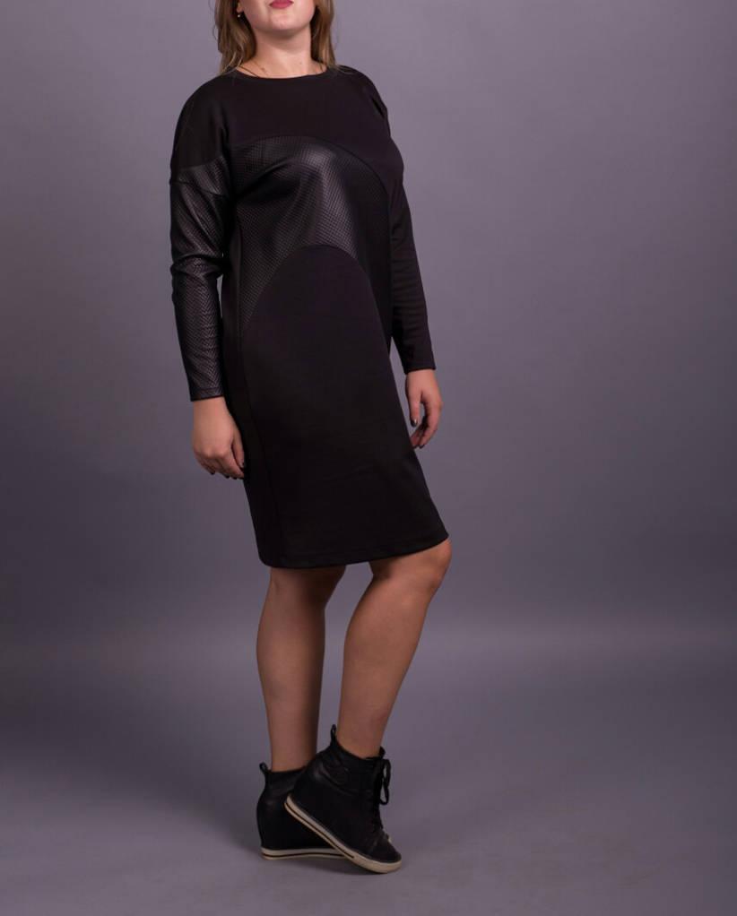 """Стильное женское платье """"Нерпа"""", размеры от 42 по 70"""