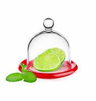 Лимонница (контейнер для лимона) красное дно