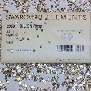 Стразы для ногтей Crystal SS4 (хамелеон), 1440 шт.