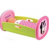 Кроватка для куклы Smoby Minnie Mouse (24208)