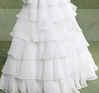 Плаття довге з воланами, фото 3