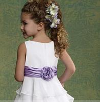 Плаття довге з воланами, фото 4