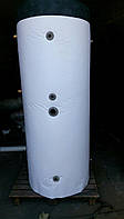 1500 литров Буферная емкость для твердотопливного котла в изоляции с двумя теплообменниками, фото 1