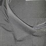 Турецкая черная рубашка ZERMON (размерьі S. M. XXL), фото 2
