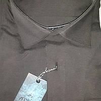 Турецкая черная рубашка ZERMON (размерьі S. M. XXL)