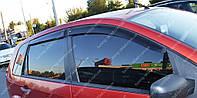 Ветровики окон Форд Фиеста 5 5d (дефлекторы боковых окон Ford Fiesta 5)