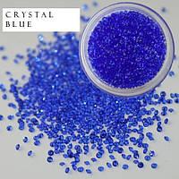 Стразы для ногтей Blue 1.1 мм, 1440 шт.