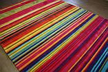 Великий сучасний килим мультиколор 2.5*3.5, фото 3