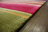 Великий сучасний килим мультиколор 2.5*3.5, фото 5