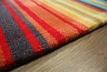 Великий сучасний килим мультиколор 2.5*3.5, фото 6
