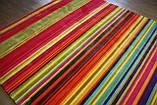 Великий сучасний килим мультиколор 2.5*3.5, фото 7