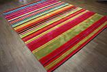 Великий сучасний килим мультиколор 2.5*3.5, фото 2