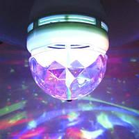 Светодиодная диско лампа Feron LB800 RGB 3w Е27