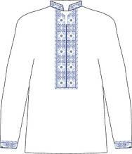 ЧСВП-34. Заготовка Чоловіча сорочка домоткана
