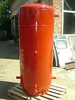 1500 литров Бак для твердотопливного котла с двумя змеевиками, фото 1