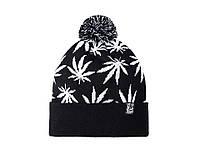 Шапка - Urbanplanet  - 420 Black/White (Зимняя/Зимова шапка)