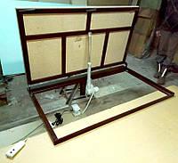 Потайные люки в подвал под плитку на электроприводе