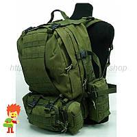 Тактический рюкзак 45-60 л Army Green, фото 1