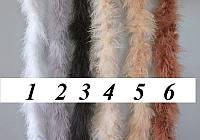 Марабу, боа пышное разные цвета