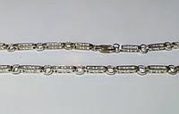 Серебряная цепочка Версаче